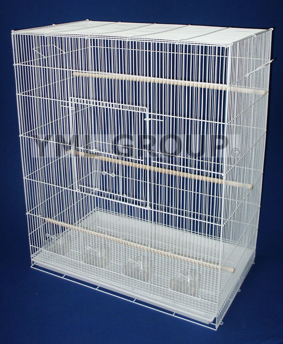 YML Group 4x2484WHT Lot of 4 Large Breeding Cages - White from YML Group