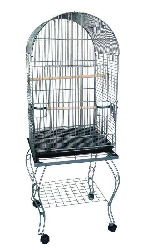 "YML Group 600AAS 20"" Dometop Parrot Cage With Stand - AS from YML Group"