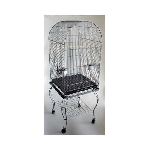 "YML Group 600ACP 20"" Dometop Parrot Cage With Stand - Antique Copper from YML Group"