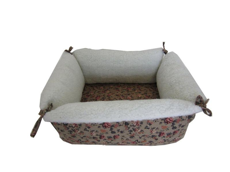 YML Group FH007 Square Pet Bed in Brown from YML Group