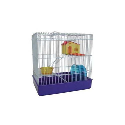 YML Group H820BL H820 3 Level Hamster Cage, Blue from YML Group