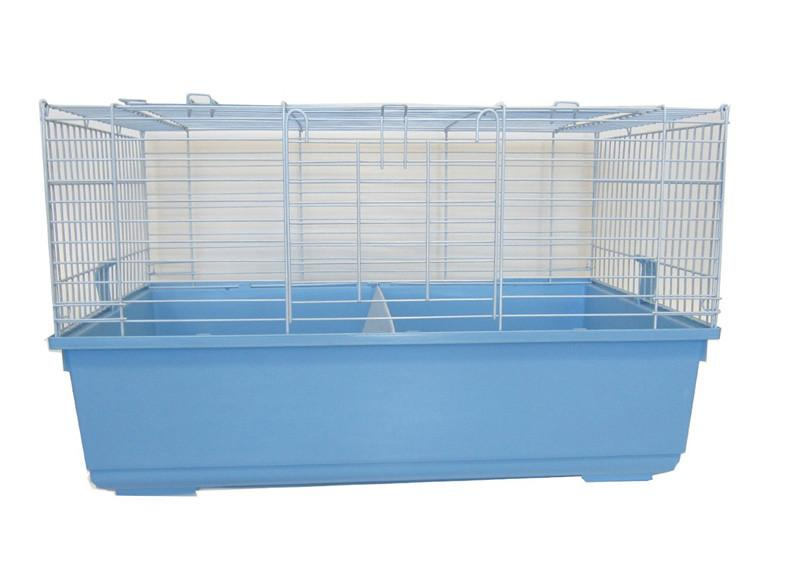 YML Group SA3220_STD Indoor Small Animal Cage Rabbit With Stand In Blue from YML Group
