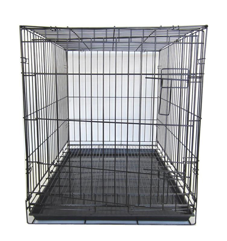 "YML Group SA42G 42"" Dog Kennel Cage With Bottom Grate, Black from YML Group"