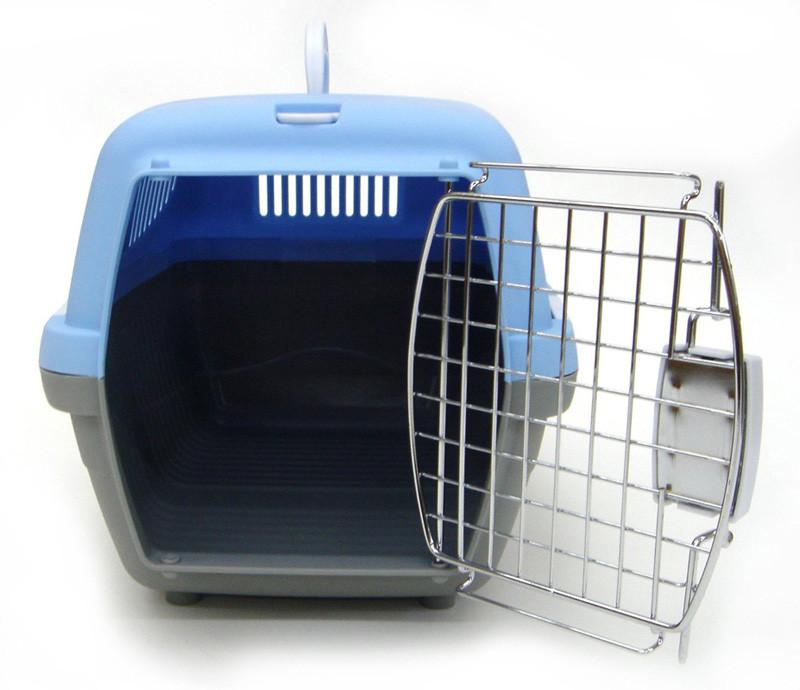 YML Group Z100S-BL Small Plastic Carrier for Small Animal, Blue from YML Group