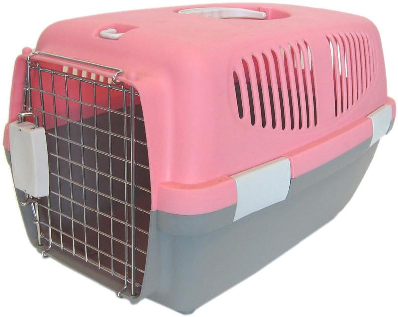 YML Group Z100S-PK Small Plastic Carrier for Small Animal, Pink from YML Group