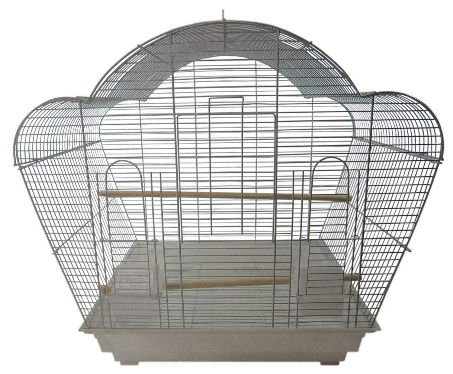 YML Scallop-Top Bird Cage with Optional Stand from YML Group