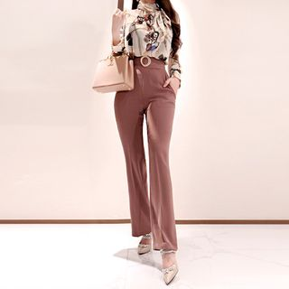 Long-Sleeve Printed Blouse / Pants from Yilda