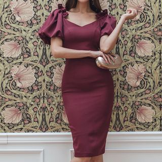 Short-Sleeve Sheath Dress from Yilda