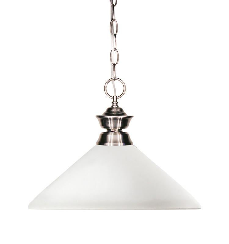Z-Lite 100701bn-amo14 Shark Collection 1 Light Pendant from Z-Lite