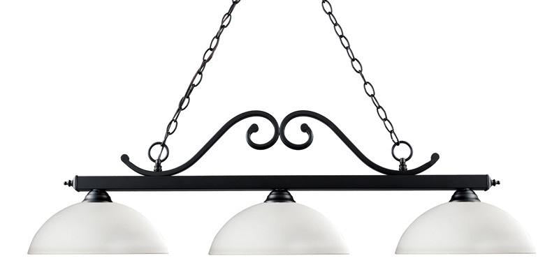 Z-Lite 149mb-dmo14 Windsor Collection 3 Light Billiard from Z-Lite