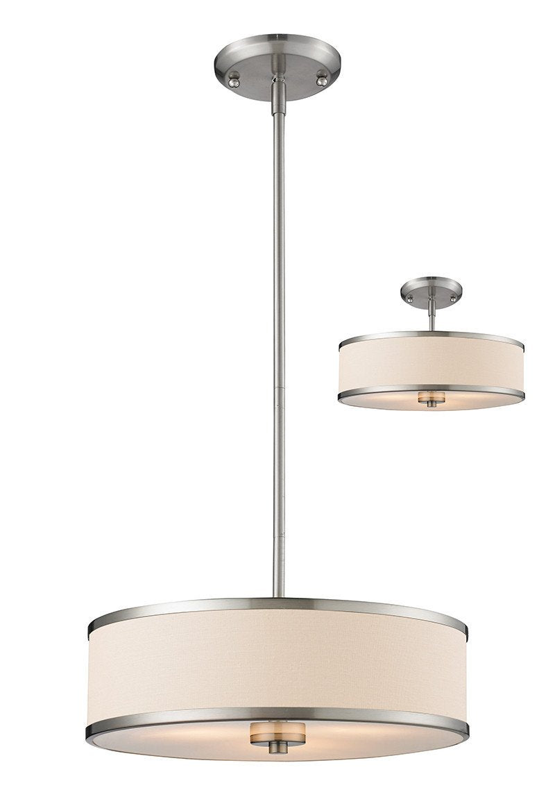 Z-Lite 183-16 3 Light Convertible Pendant from Z-Lite