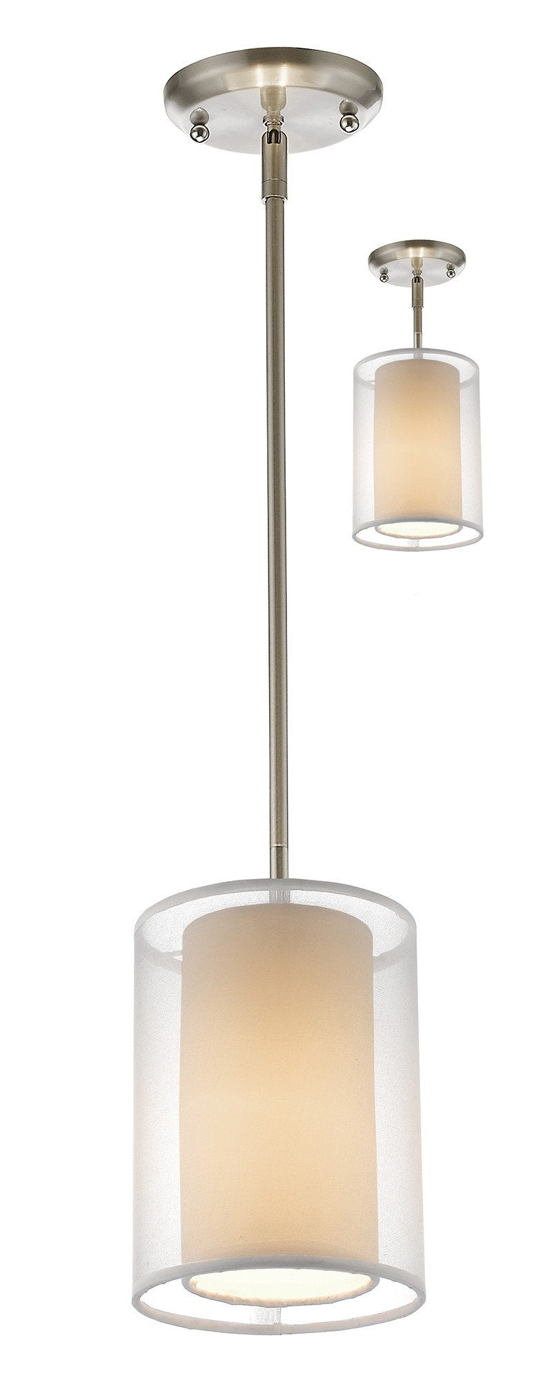 Z-Lite 192-6W-C 1 Light Convertible Mini Pendant from Z-Lite
