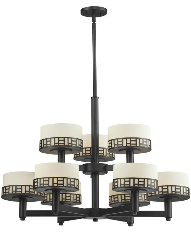Z-Lite 329-9-BRZ 9 Light Chandelier from Z-Lite