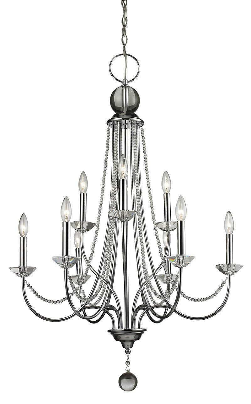 Z-Lite 429-9-CH 9 Light Chandelier from Z-Lite