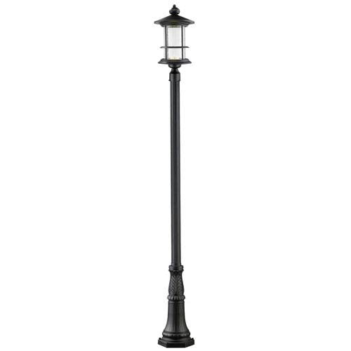 Z-Lite 552PHBR-518P-BK-LED Outdoor LED Post Light from Z-Lite