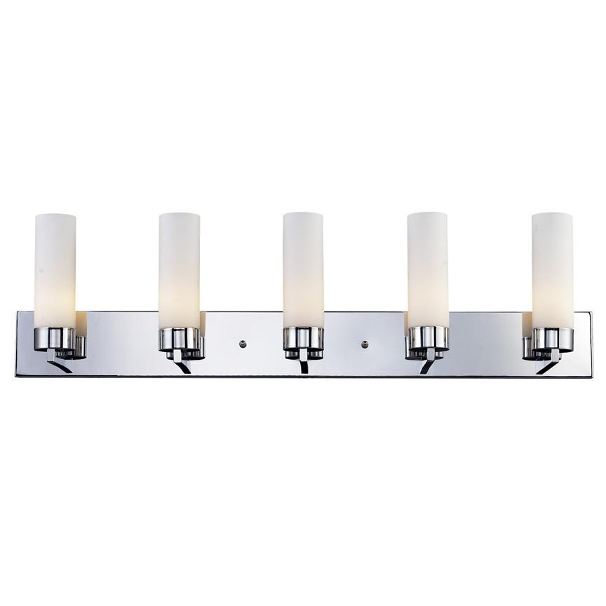 Z Lite Ibis Collection Chrome Finish Five Light Vanity Light from Z-Lite