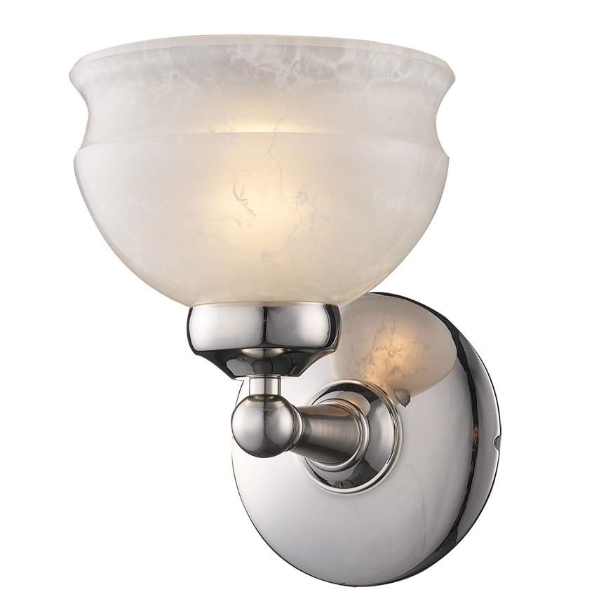 Z-Lite Sterling Collection Pewter Finish One Light Vanity from Z-Lite