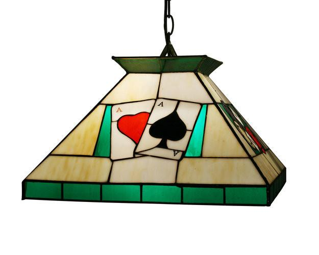 Z-Lite Tiffany Billiard  Chestnut Bronze 1 Light Pendant Z16-29-01 from Z-Lite