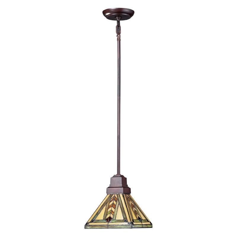 Z-Lite z8-45mp Shalimar Collection 1 Light Mini Pendant from Z-Lite