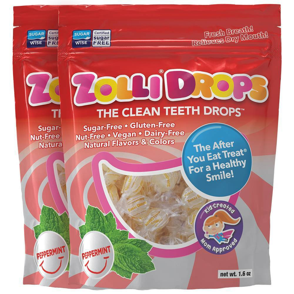 Zolli Drops Peppermint Double Bags - 3oz/2pk from Zolli