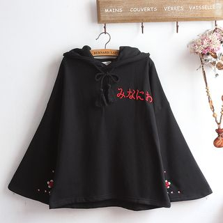 Embroidered Hoodie from akigogo