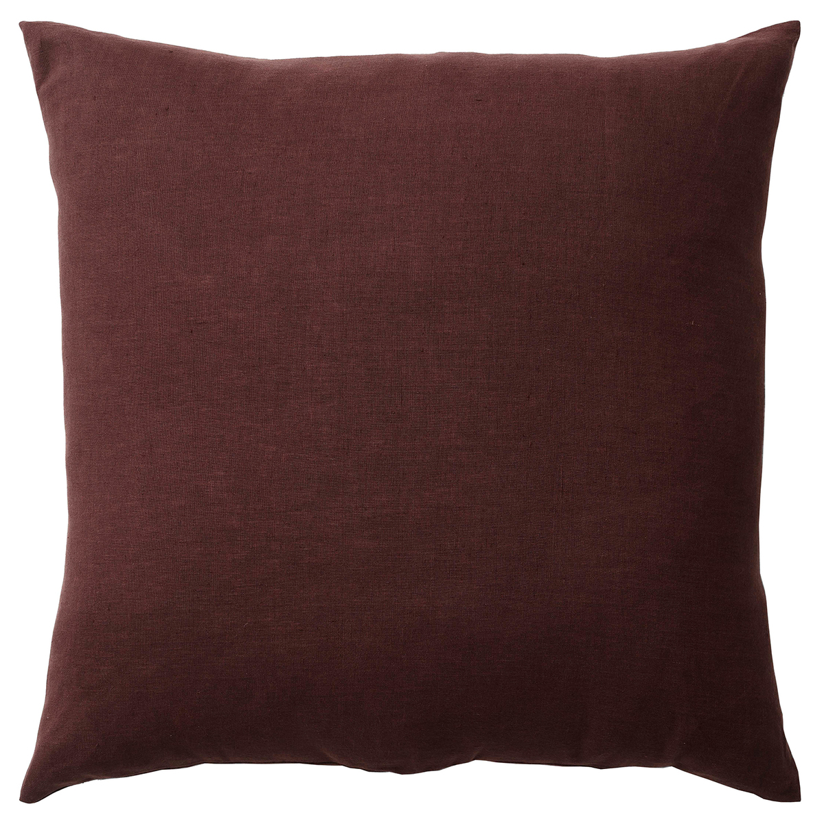 &Tradition Collect Linen SC29 cushion, 65 x 65 cm, burgundy from &Tradition