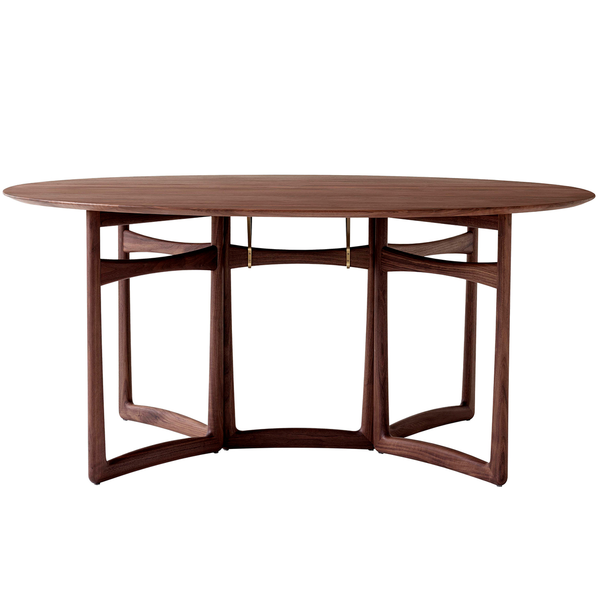 &Tradition Drop Leaf HM6 dining table, oiled walnut from &Tradition