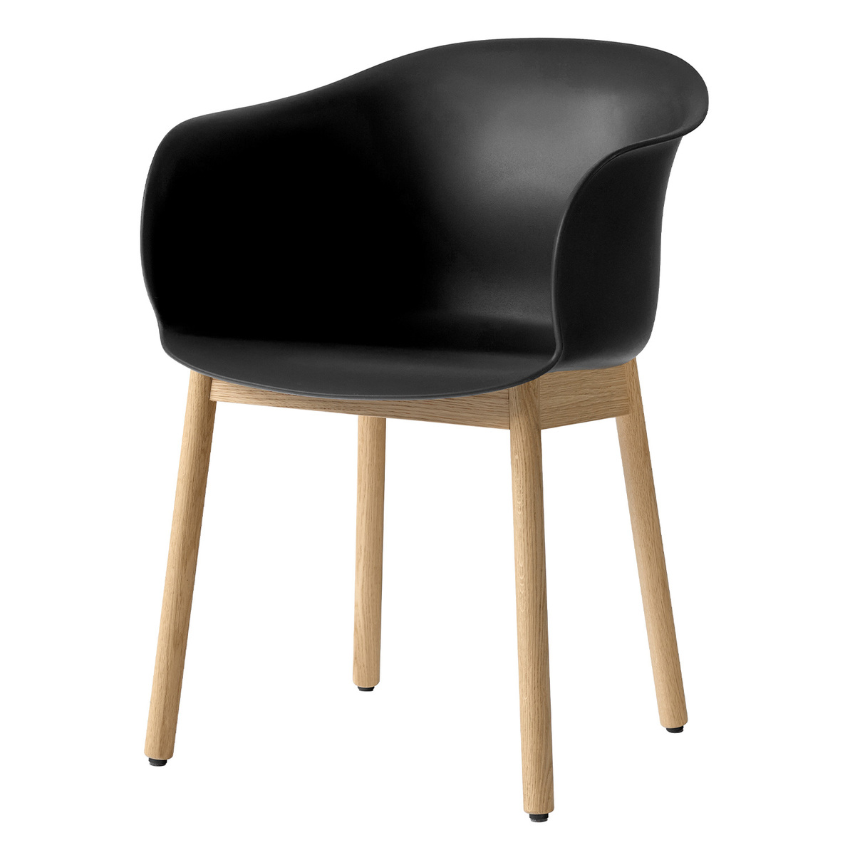 &Tradition Elefy JH30 chair, black - oak from &Tradition