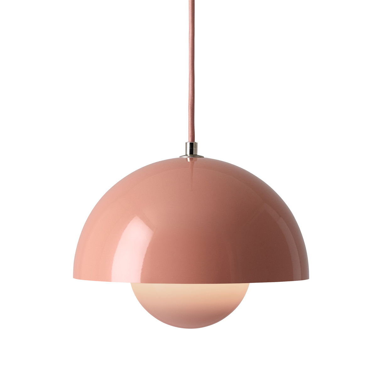 &Tradition Flowerpot VP1 pendant, beige red from &Tradition