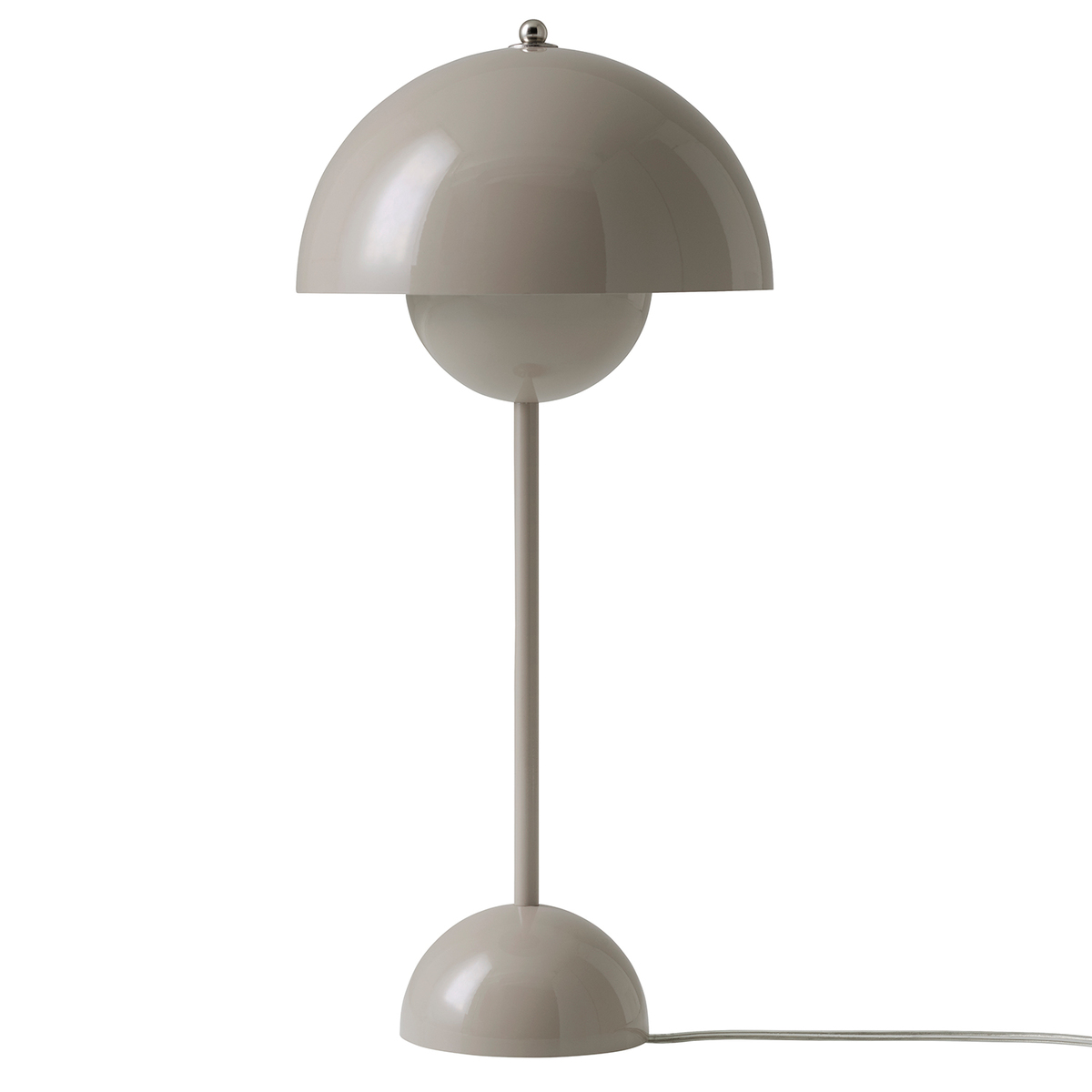 &Tradition Flowerpot VP3 table lamp, grey beige from &Tradition