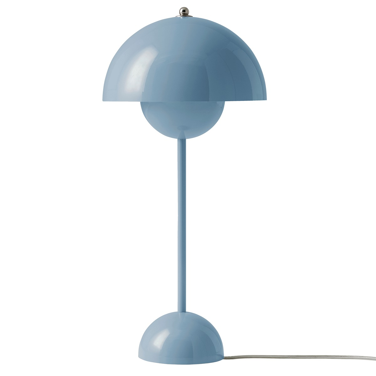 &Tradition Flowerpot VP3 table lamp, light blue from &Tradition