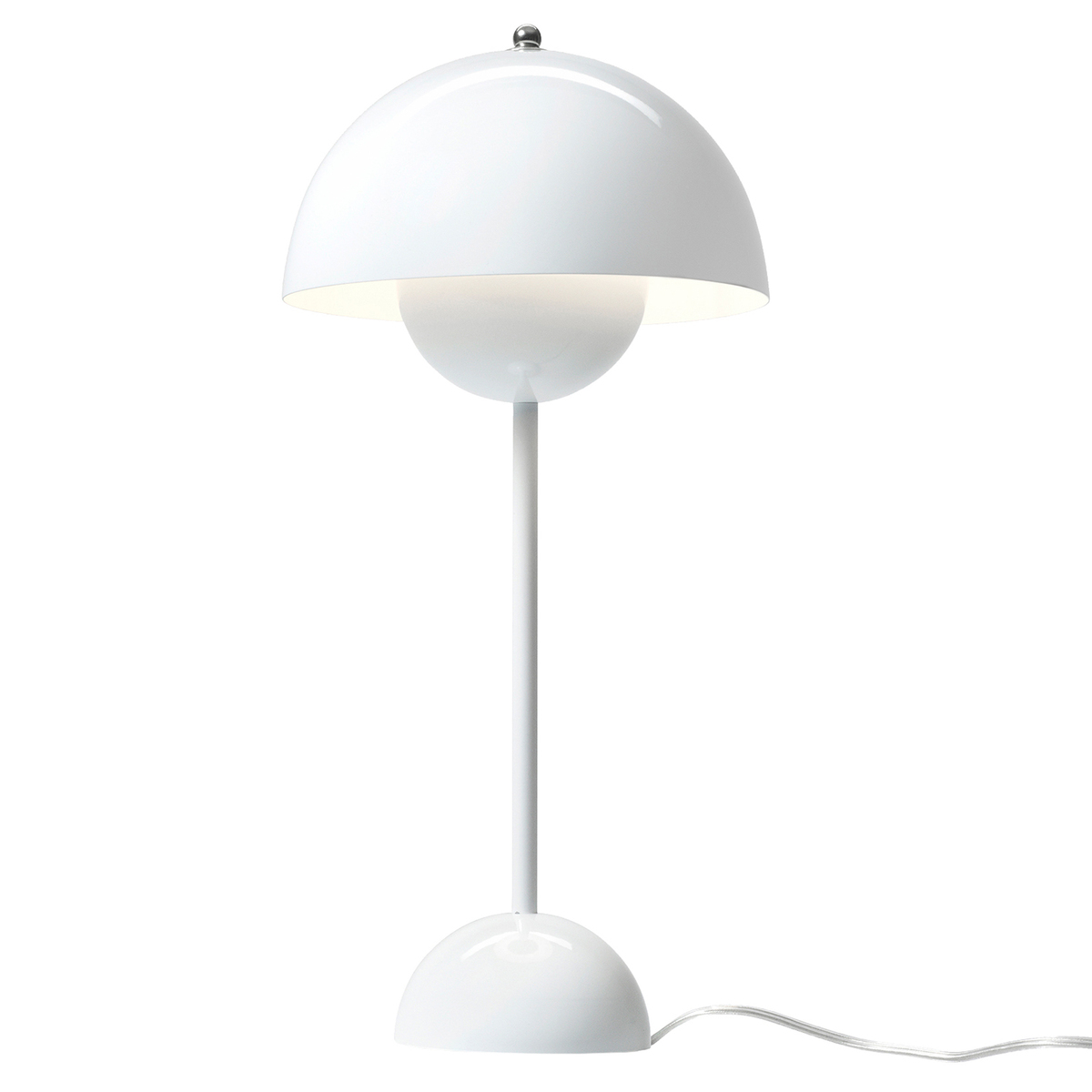 &Tradition Flowerpot VP3 table lamp, white from &Tradition