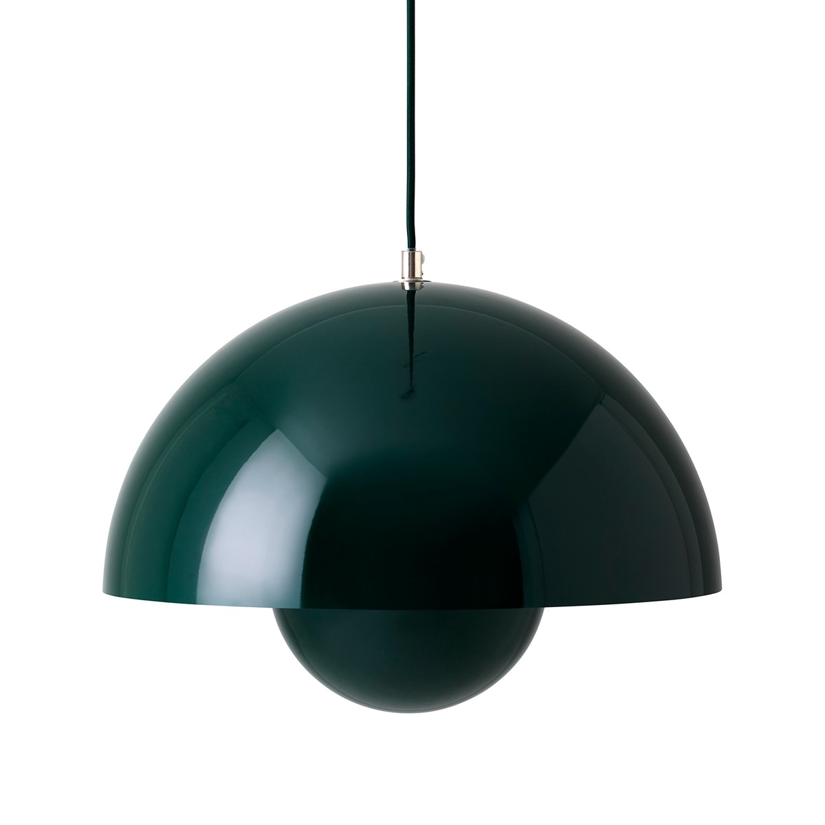 &Tradition Flowerpot VP7 pendant, dark green from &Tradition