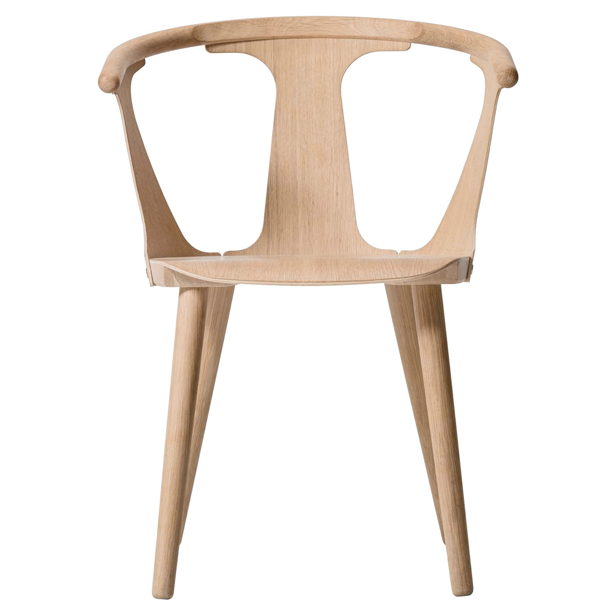 &Tradition In Between SK1 chair, white oiled oak from &Tradition