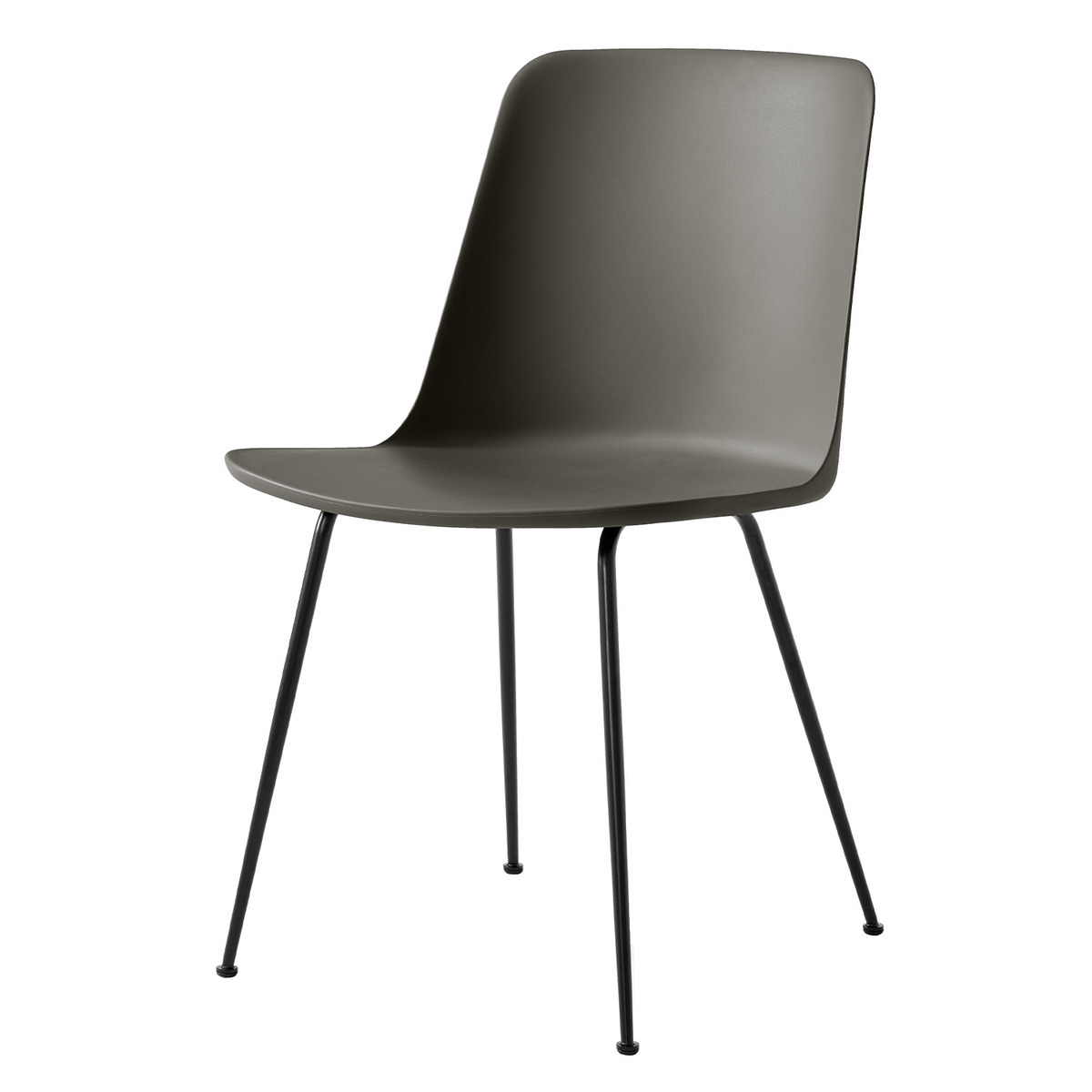 &Tradition Rely HW6 chair, black - stone grey from &Tradition