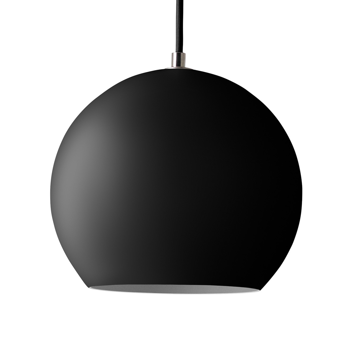 &Tradition Topan VP6 pendant light, matt black from &Tradition