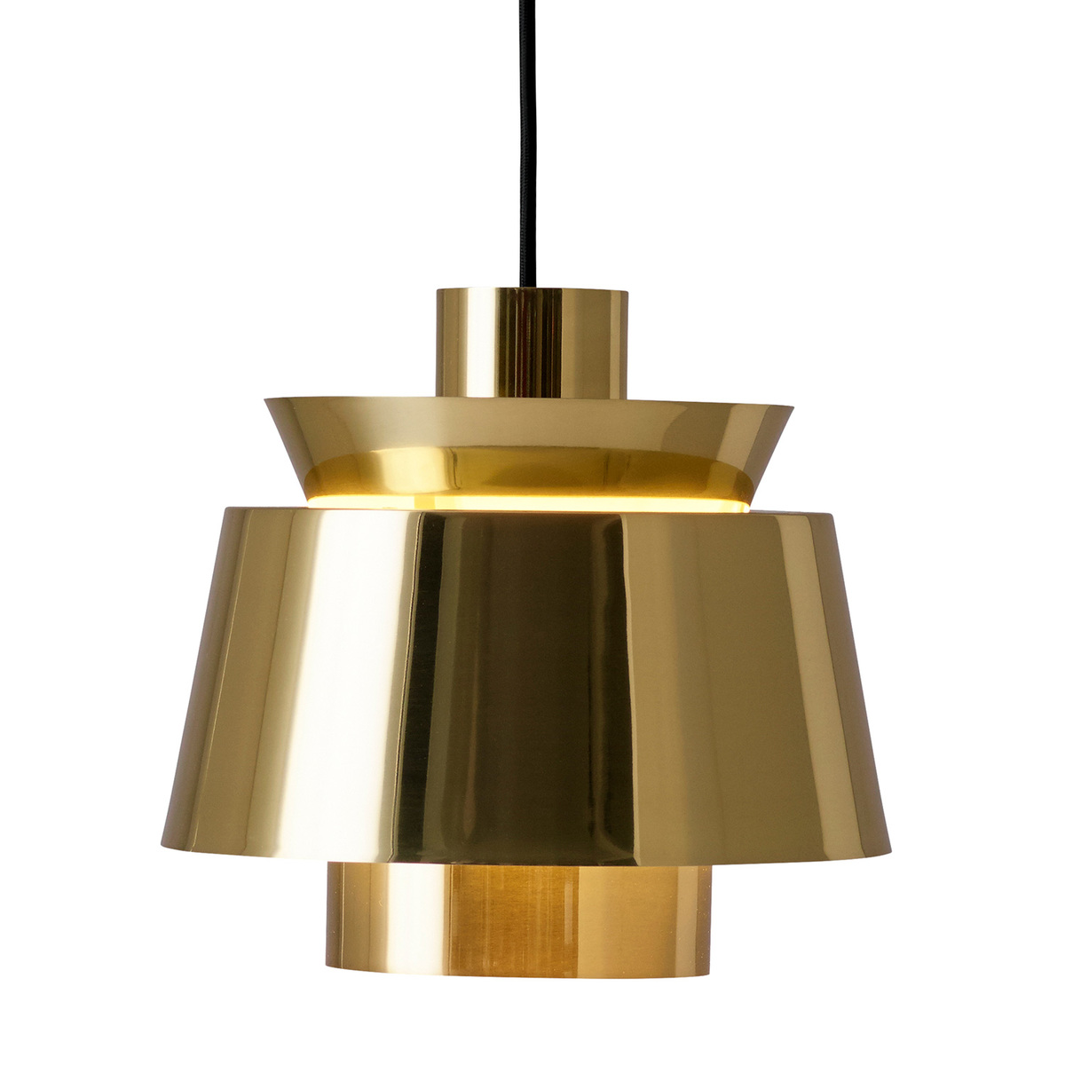 &Tradition Utzon JU1 pendant light, brass from &Tradition