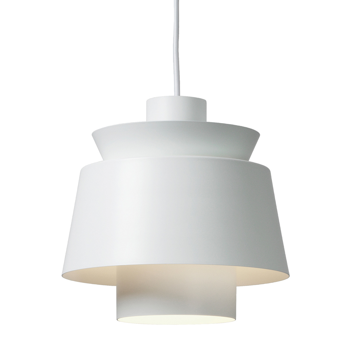 &Tradition Utzon JU1 pendant light, white from &Tradition