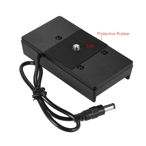 Andoer Battery Mount Plate Power Supply Charger Adapter for Sony BP-U60/30 BMCC Camera from andoer