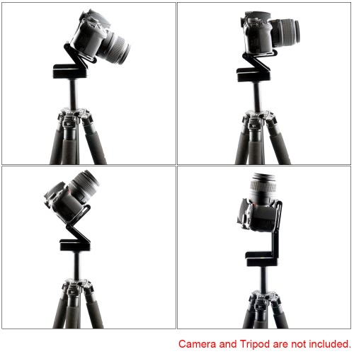 Andoer Camera Head Solution Photography Studio Camera Tripod Z  Pan & Tilt Flex Tilt Head Aluminum Alloy from andoer