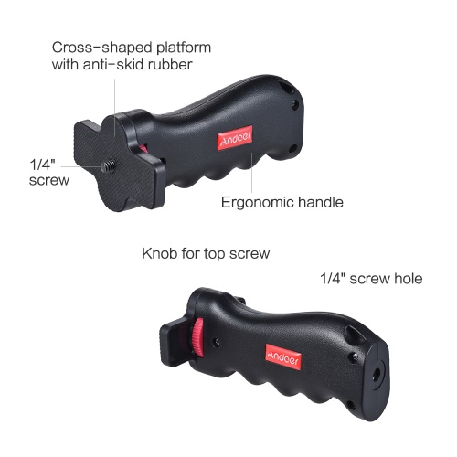 Andoer Cross-shaped Mini Universal Handheld Grip from andoer