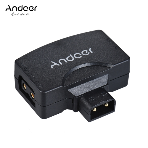 Andoer D-Tap to 5V USB Adapter Connector for V-Mount Camcorder Camera Battery for BMCC for iPhone 7/6/6plus for Samsung Huawei iOS Android Smartphone Monitor from andoer