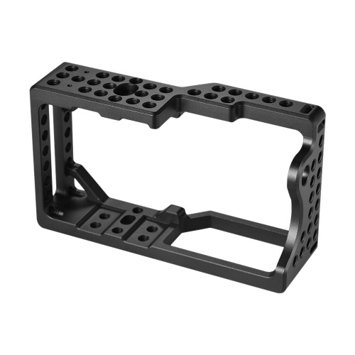 Andoer Video Camera Cage Stabilizer Protector for BMPCC Camera to Mount Microphone Monitor Tripod LED   Light Photographic Accessories from andoer