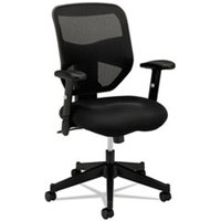 VL531 Series High-Back Work Chair, Mesh Back, Padded Mesh Seat, Black from basyx
