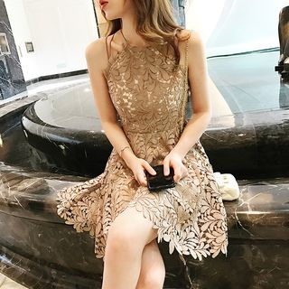 Sleeveless Lace Dress from ever after