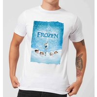 Frozen Snow Poster Men's T-Shirt - White - XL - White from frozen