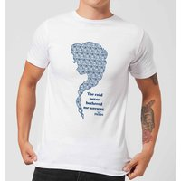 Frozen The Cold Never Bothered Me Anyway Men's T-Shirt - White - L - White from frozen