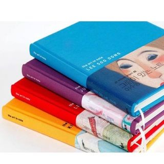 Colored Medium Notebook from iswas