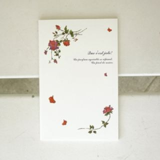 Floral Print Notebook - (M) from iswas