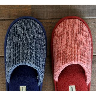 Knit Slippers from iswas